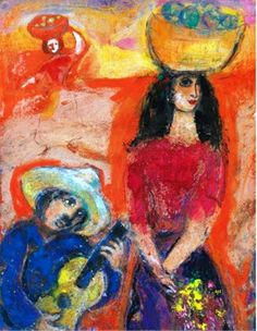Marc Chagall - Serenade Mexicaine