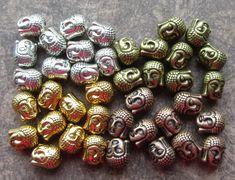 10 x Tibetan Silver Gold Copper or Bronze by VioletEarthSupplies