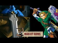 Man At Arms Forges Link's Master Sword from LEGEND OF ZELDA — GeekTyrant