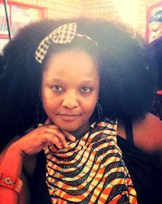 My afro
