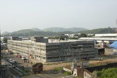 Overview of manufacturing facility in vasai