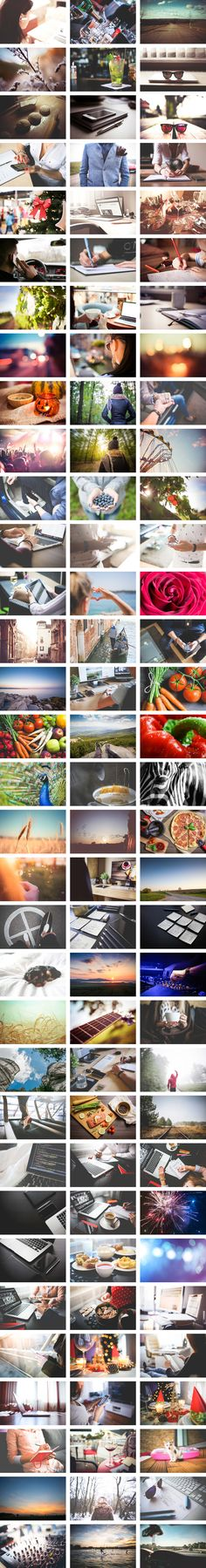 When Viktor Hanáček started designing for the Web, he struggled to find good stock images, so he started using his own photos. They were so popular that he st