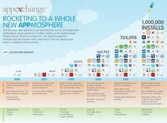 Salesforce AppExchange celebrates it's 1 million installs milestone via Slideshare (2011)