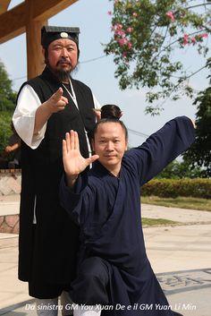 Wudang Taiji Quan - GM You Xuan De e GM Yuan Li Min