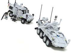 レゴ 火力支援車と歩兵機動車(LEGO Fire Support Vehicle and Infantry Mobility Vehicle) | by popo lego