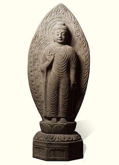 [Unified Silla Period (719)] Amitabha Buddha from Gamsansa Temple Site