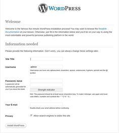 Creating MySQL Database for WordPress