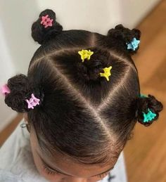 Little Girls Ponytail Hairstyles, Little Girl Ponytails, Little Girls Natural Hairstyles, Toddler Braided Hairstyles, Kids Curly Hairstyles, Baby Girl Hairstyles, Curly Hair Styles, Natural Hair Styles, Hair Ideas