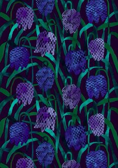 The gerda from Marimekko Vancouver is a unique fashion item. Marimekko Vancouver carries a variety of printed fabric and other Fabric items. Design Textile, Textile Patterns, Textile Prints, Fabric Design, Print Patterns, Pattern Design, Floral Patterns, Marimekko, Plum Art