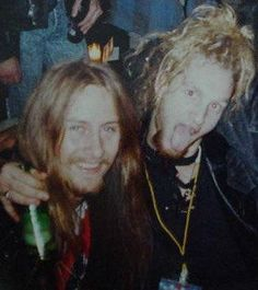 Jerry Cantrell and Layne Staley - Alice in Chains....................