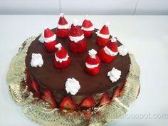 Tarta de chocolate y fresa (receta casera paso a paso)