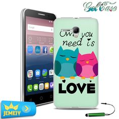 5025D Original Printed Case For Alcatel One Touch Pop 3 2 4 4+ 4S star 3G 4G fierce XL hero 2C go play D1 4018 Back Cover Cases
