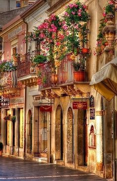 Taormina is located on the east coast of Sicily, is the epitome of southern Italian beach towns.