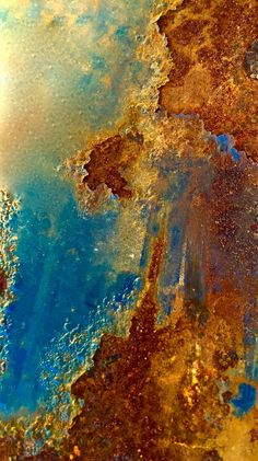 ❤ One of my favorite things: The Art of Rust ~ Rocket Rust Gouts Et Couleurs, Peeling Paint, Action Painting, Rusty Metal, Rust Color, Abstract Photography, Textures Patterns, Painting Inspiration, Abstract Art