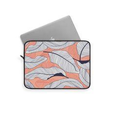 Modern Leaves Laptop Sleeve – WavyBazaar Macbook Sleeve, Sleeve Designs, Laptop Sleeves, Leaves, Etsy Shop, Modern, Prints, Handmade, Products