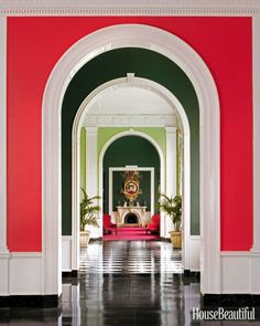 """""""When I was 14 years old I was taken to the Greenbrier, just completed by Dorothy Draper, and my eyes were opened to what an interior designer could really do."""" —Bunny Williams"""