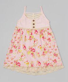 Look at this #zulilyfind! Cotton Candy Haper Dress - Toddler & Girls by Free Planet #zulilyfinds
