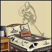 hockey bedroom ideas for boys | bedrooms - sports bedding - boys all sports bedroom decorating ideas ...
