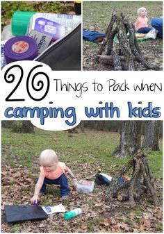 I need to be prepared when we're hours from home on a weekend getaway in the woods. I need this list of 20 Things to Pack when Camping with Kids. #TeamPuracynPlus #ad