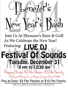 New Year's Eve 2013. Bring in the new year!