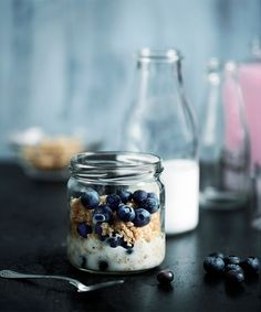 Quinoagröt med blåbär och kanel