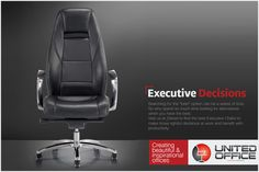 """Searching for the """"best"""" option can be a waste of time. So why spend so much time looking for alternatives when you have the best. Visit us at Zabeel to find the best Executive Chairs to make those rightful decisions at work and benefit with productivity. #officefurniture #executivedecision #executivechair #officechair"""