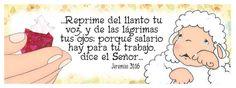 #Jesus #jeremias 31:16 #ovejitas