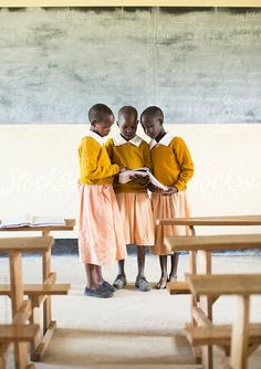 Stock photo of African Primary School. by hughsitton