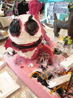 Mini Pig, Artist At Work, Desserts, Food, Sculpture, Art, Kunst, Tailgate Desserts, Deserts