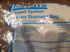 Bardia Closed System Urinary Drainage Bag Latex Free Anti-Reflux Chamber #Bardia