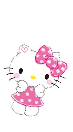 Hello Kitty Images, Walls, Wallpapers, Fictional Characters, Art, Art Background, Kunst, Wallpaper, Performing Arts