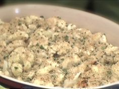 Roasted Cauliflower Recipe The picture doesn't do this recipe justice. It comes out golden brown, tender, and delish