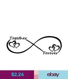 Decals, Stickers & Vinyl Art Together Forever Infinty Vinyl Decal Sticker Car Window Bumper Heart Love Symbol & Garden Infinity Tattoo Designs, Ankle Tattoo Designs, Tree Tattoo Designs, Infinity Tattoos, Heart With Infinity Tattoo, Mom Tattoos, Wrist Tattoos, Couple Tattoos, Tattoos With Kids Names