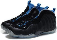 penny hardaway shoes nike air foamposite one black royal blue