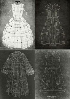 fashion design illustration | Sketchbook