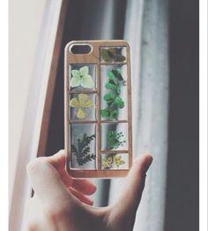 Plant phone case //aesthetic\\