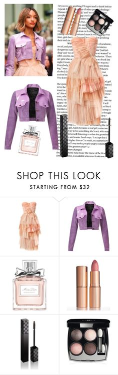 """""""Untitled #25"""" by inaey ❤ liked on Polyvore featuring Burberry, Christian Dior, Charlotte Tilbury, Gucci and Chanel"""