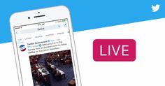Twitter is launching a Live video API on Tuesday, March 21