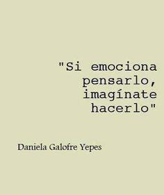 Imaginate amor!!!!