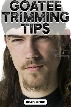 Goatee trimming can be tricky. Read our unmistakable goatee trimming tips and full guide to trim a goatee like a pro. Jump to beardtrimandgroom.com #goateetrimmingtips #goateetrimmingguide #howtotrimagoatee    Want to learn how to trim your goatee like a pro?