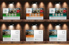 Real Estate Post Cards Template