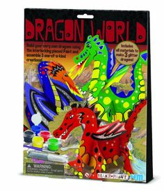 4M Dragon World Craft Kit * You can find out more details at the link of the image.