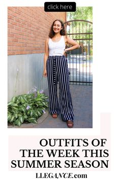 Click to see OUTFITS OF THE WEEK THIS SUMMER SEASON on LLEGANCE. Here's the second instalment of my series: OOTW (outfits of the week). Last week, I kept my looks pretty casual, as I mostly hung out with friends and worked on writing a few articles. Check out the outfits I wore if you're looking for outfit inspiration as an elegant young professional. Summer fashion trends street styles. Summer fashion trends modern hippie. Summer fashion trends classy. #summer #outfit #fashion Classy Outfits, Stylish Outfits, Cool Outfits, Fashion Outfits, Young Professional, Professional Outfits, London Fashion Bloggers, Fashion Blogs, Corporate Fashion