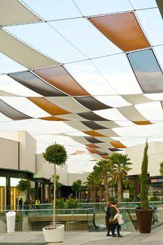 Sombras Centro Comercial Holea « LASTRA & ZORRILLA