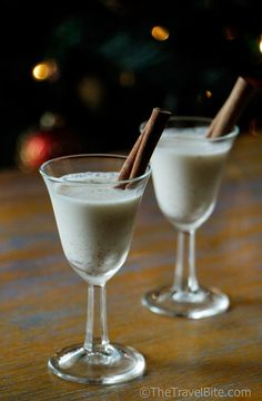 Coquito .. a coconut and rum drink spiced with cinnamon, nutmeg, and clove.  Recipe included!
