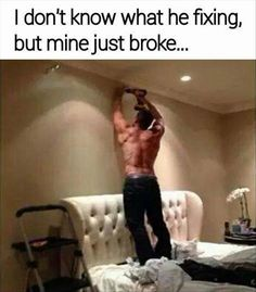 I don't know what he's fixing, but mine just broke... Funny Pictures Of The Day - 80 Pics