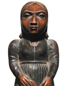 Haida Portrait Figure, Northwest Coast figure | sotheby's n09225lot757rxen