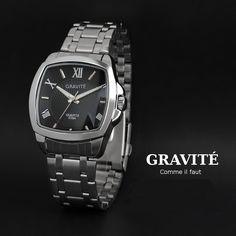 Modern. Clean. Design. Bauhaus Men's Watch by GRAVITÉ.