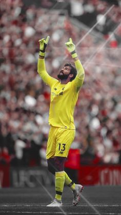 alisson becker | Wallpaper PhoneHD by MWafiq-10 Liverpool Goalkeeper, Liverpool Football Club, Liverpool Fc, Team Wallpaper, Football Wallpaper, Neymar Jr, Alison Becker, Germany Football Team, Recipes