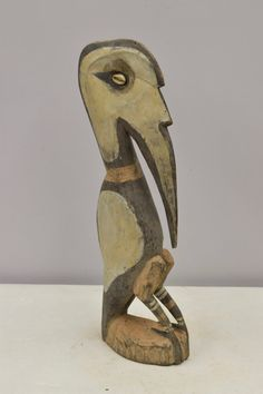 Statue Bird Papua New Guinea Wood Subut Creation by WorldofBacara